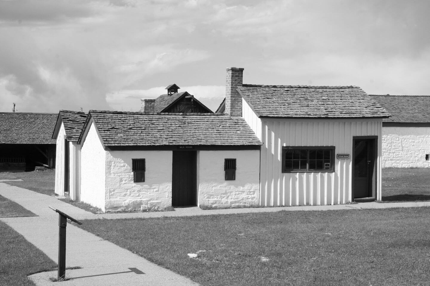 Old Fort Bridger building