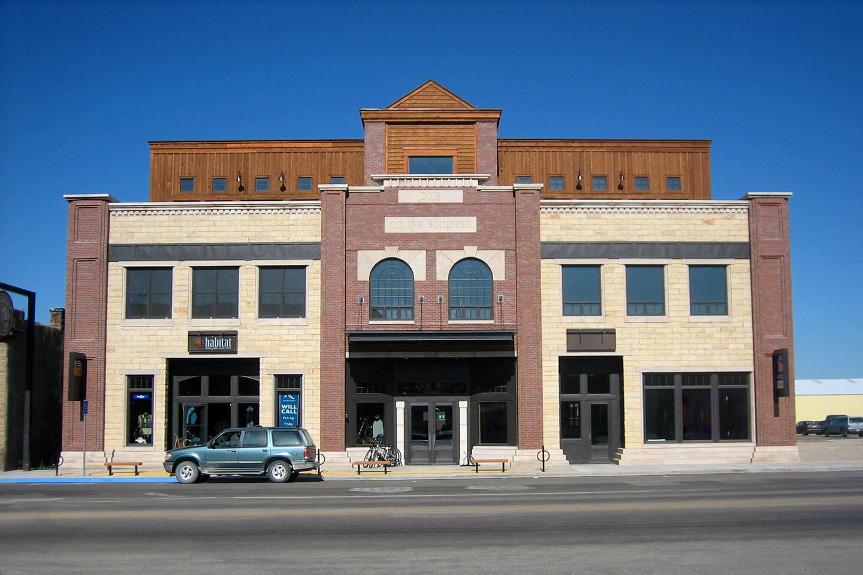 Main building facade