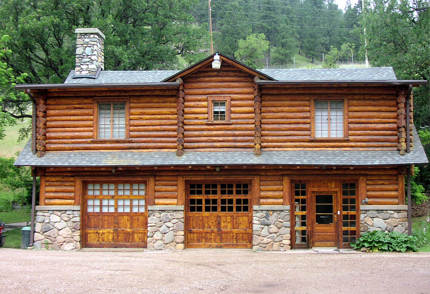Front facade of Ranch A