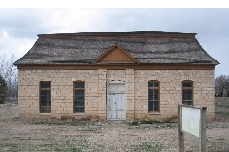 Old Rock Church facade