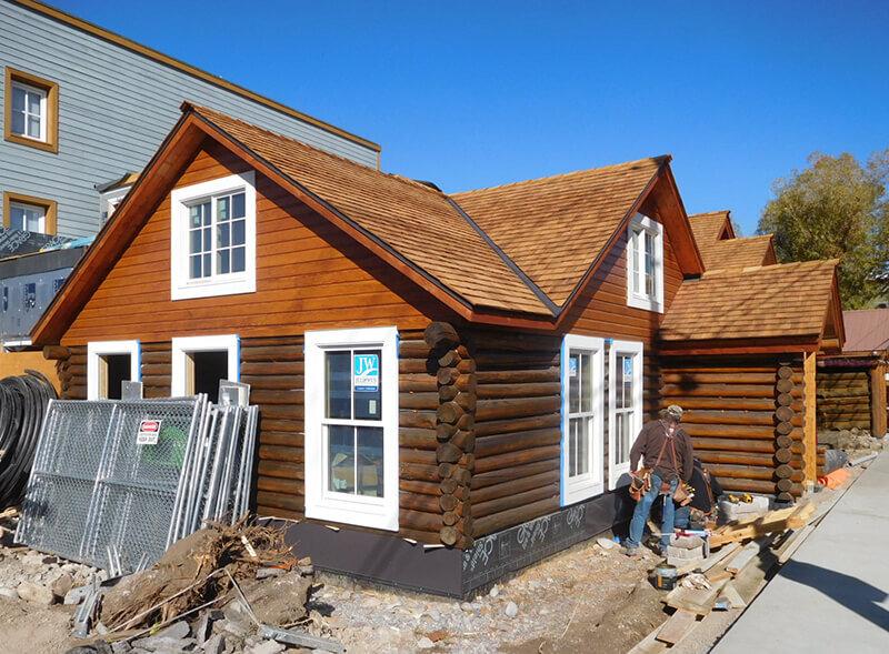 Progress on Coe Cabin remodel