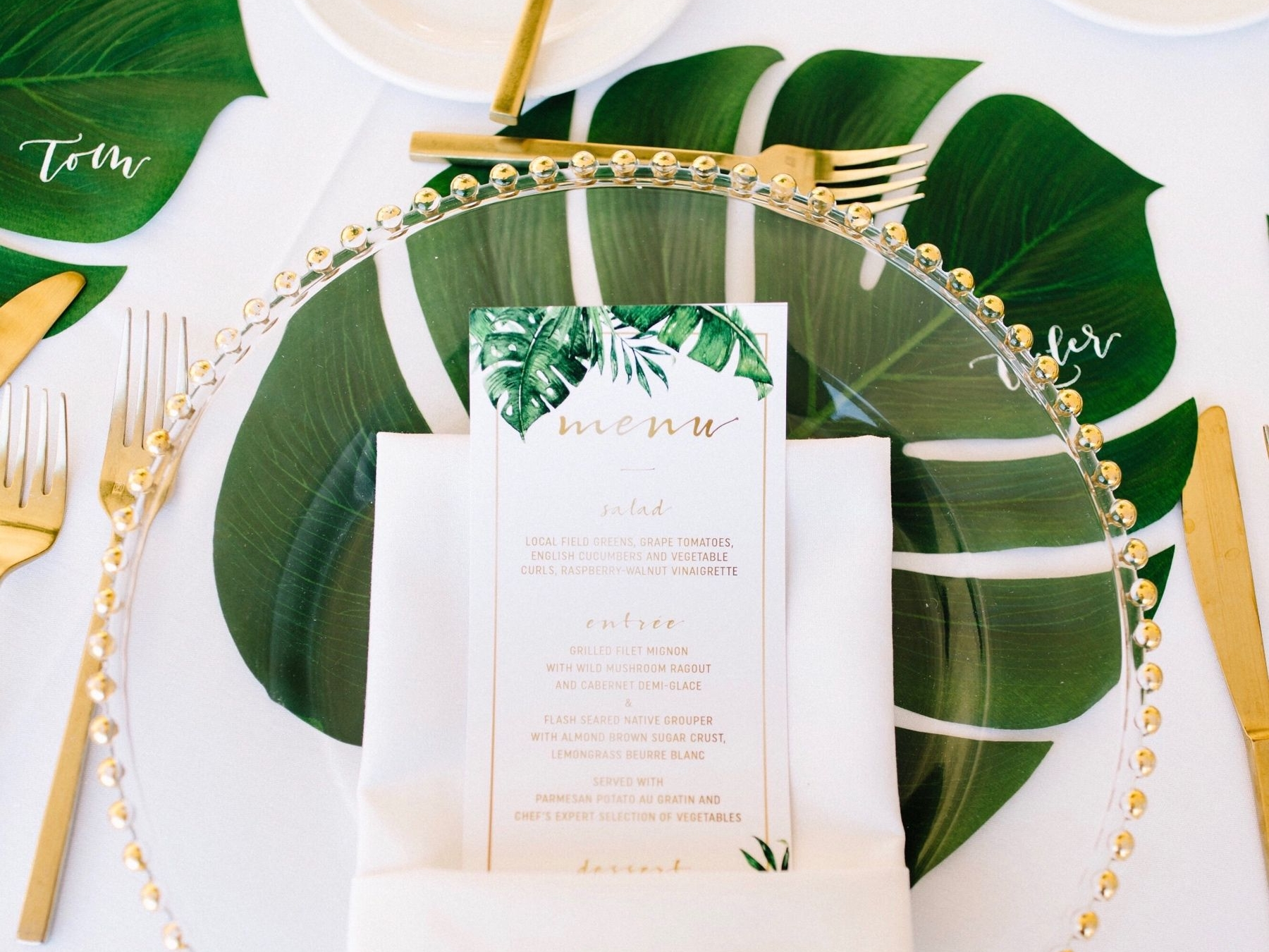 DAY-OF-DETAILS - Alright, invites are mailed out! Now what about those day-of-details and extras? Like menus, programs, placecards, and more. I've got you covered with matching designs!