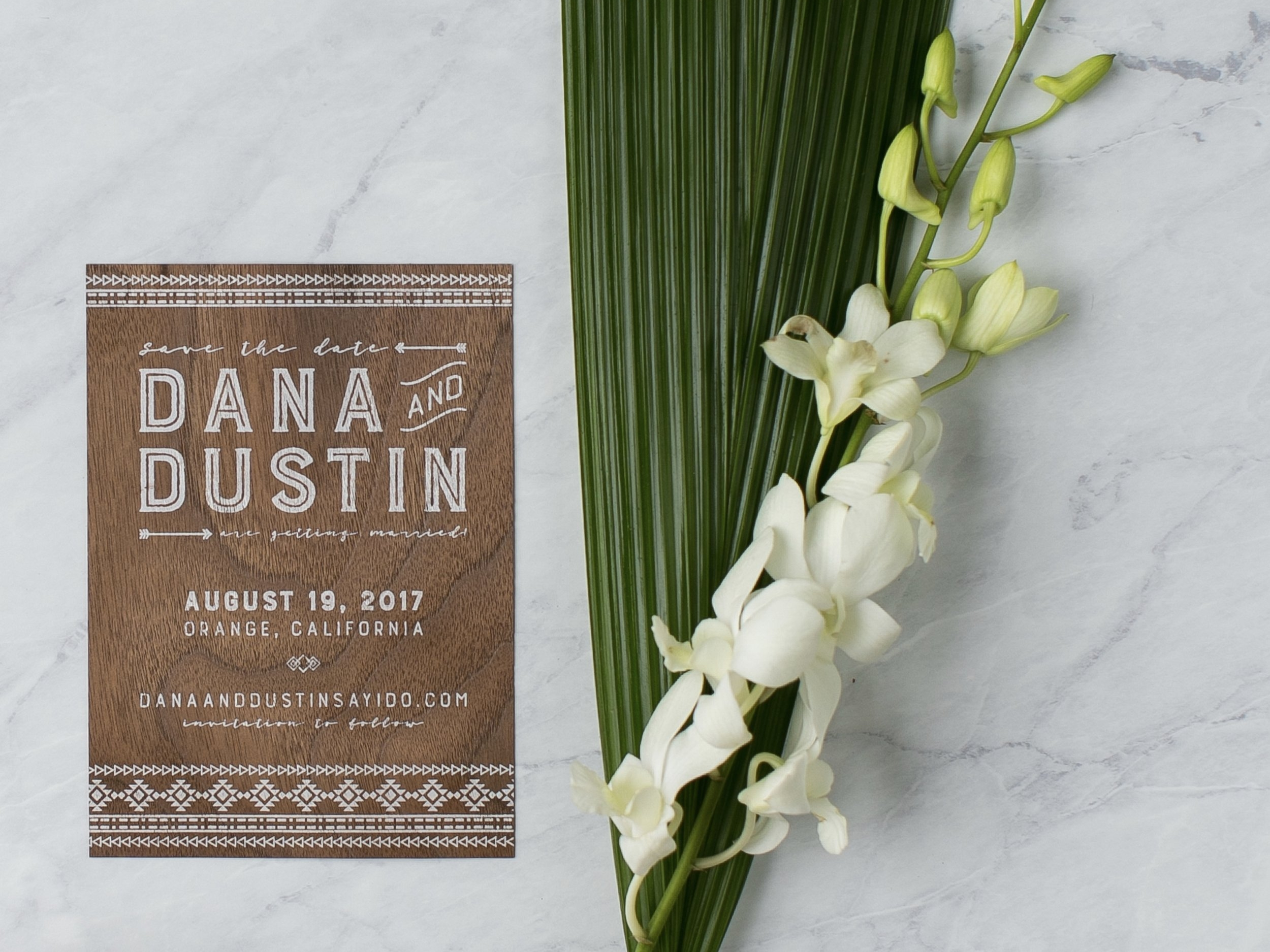"""Working on the invites with Katie was one of my favorite things about wedding planning. It was such a fun and creative process."" - - Dana"