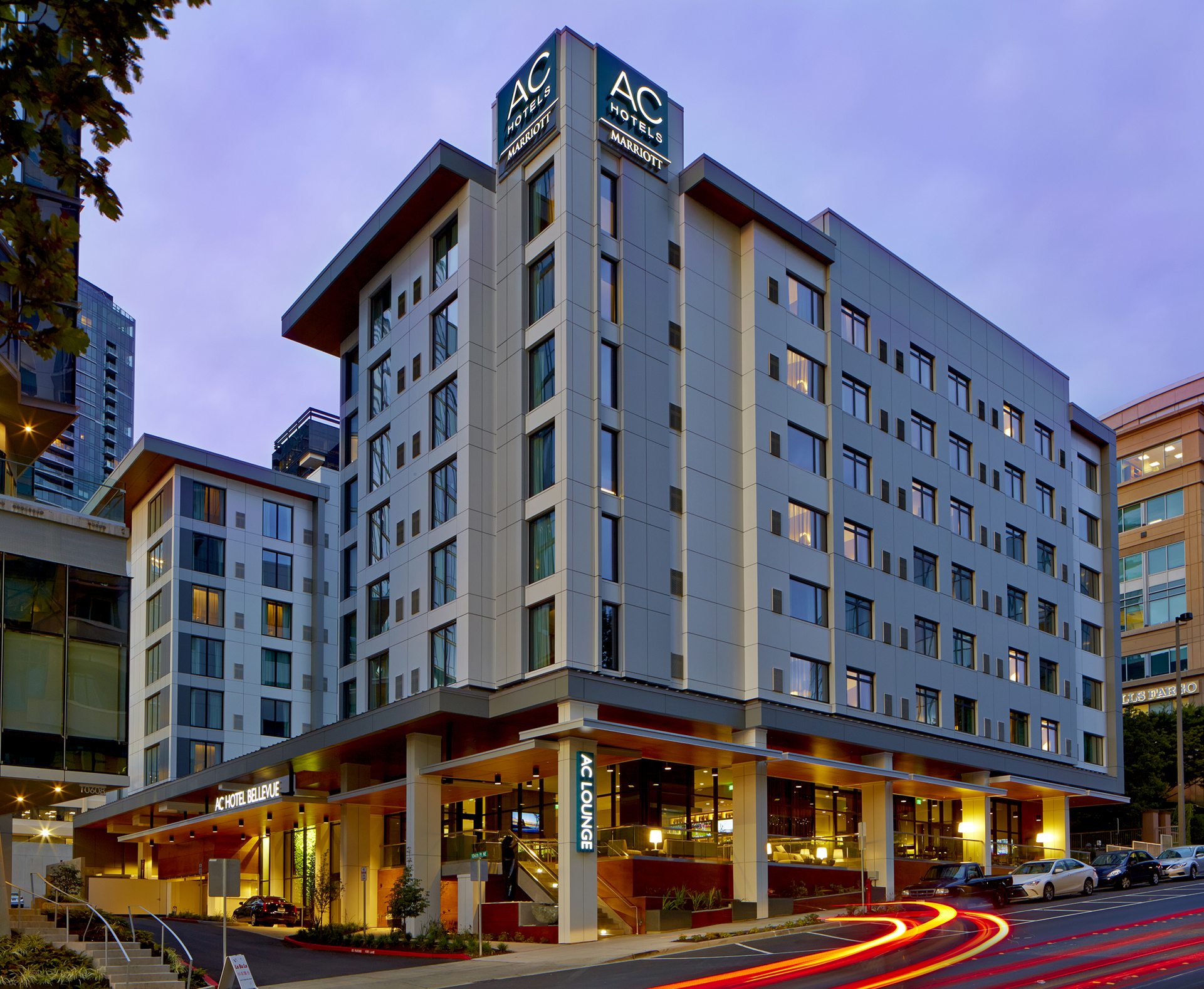 AC Hotel by Marriott Seattle Bellevue/Downtown - Bellevue, WA - High Street and its partners opened the AC Hotel by Marriott Seattle Bellevue/Downtown in August of 2017. The hotel is conveniently located near the central business district and some of the city's most popular attractions. Conduct business in distinguished meeting spaces fitted with advanced AV equipment. In the evenings, come home to the AC Lounge for craft beers, wines & tapas, or explore dozens of award-winning restaurants nearby. Whether you're in town for business or pleasure, we elevate your travel and celebrate the beauty of the small details. High Street exited this investment in December 2017 with a sale to Aju, a South Korean investment conglomerate.
