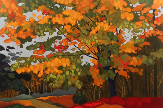 Leanne BairdOld Maple - 2016acrylic on canvas60 x 40 inches