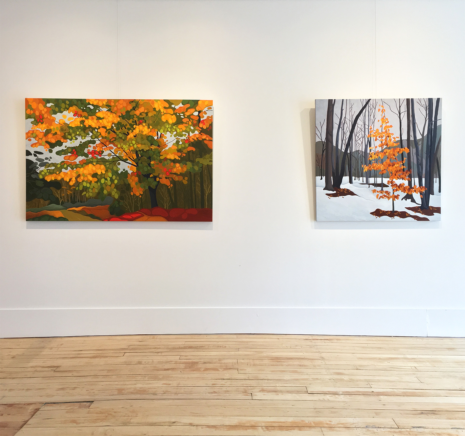 Leanne Baird,  Up Came The Sun , installation view