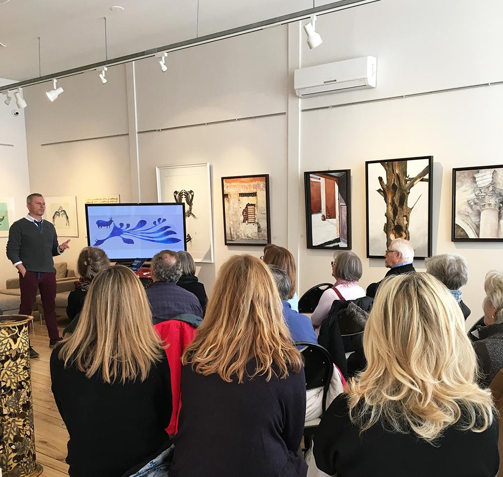 William Huffman, Dorset Fine Arts Afternoon Talk