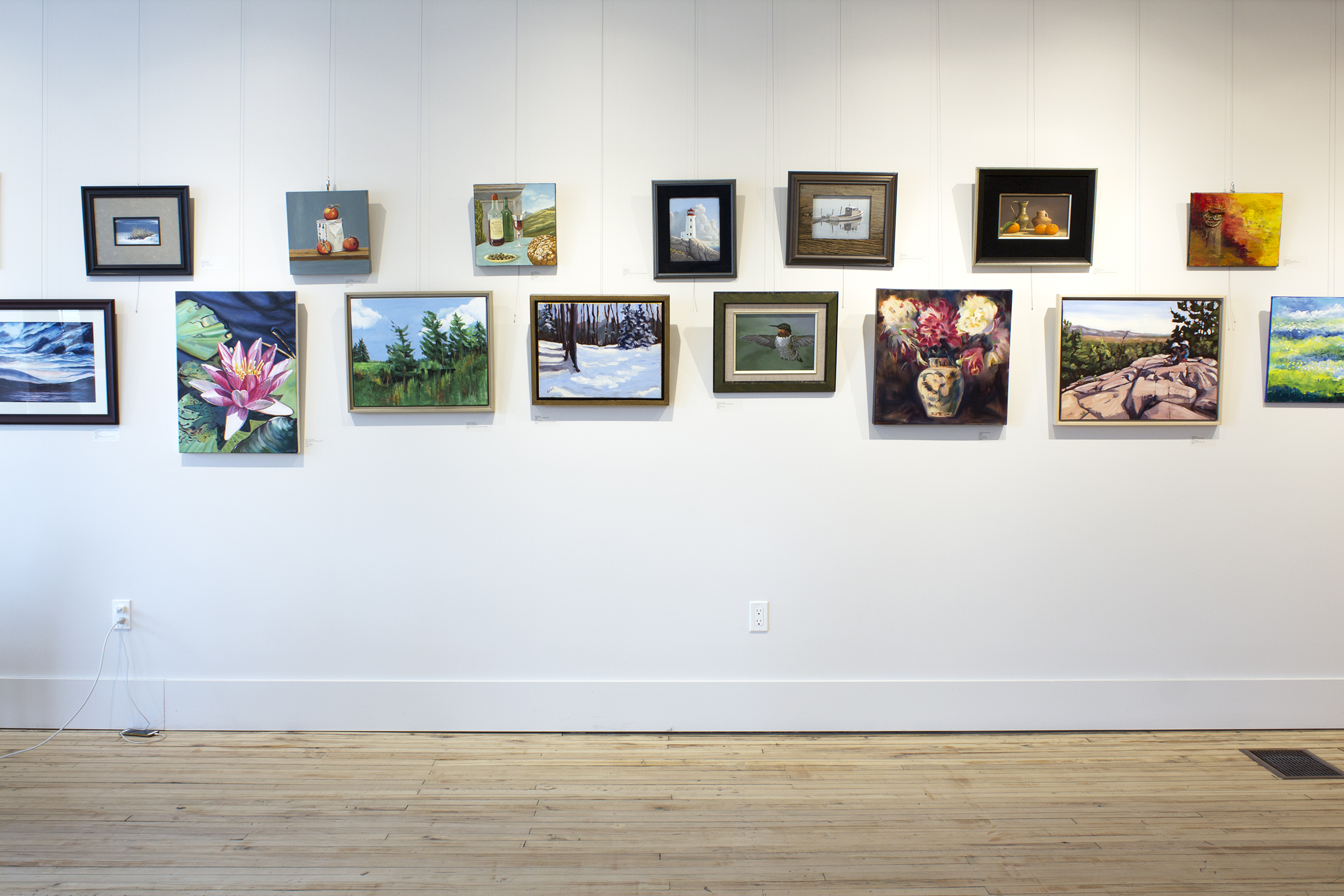 A Holiday Art Market , installation view
