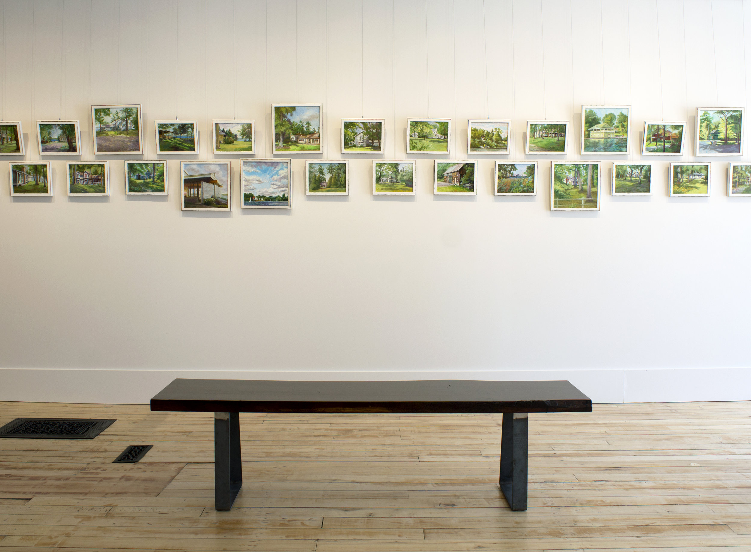 Joann Horsfall Young,  Cottages , installation view