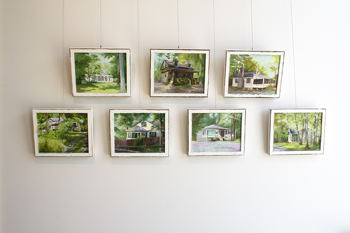 Joan Horsfall Young,  Cottages , installation view