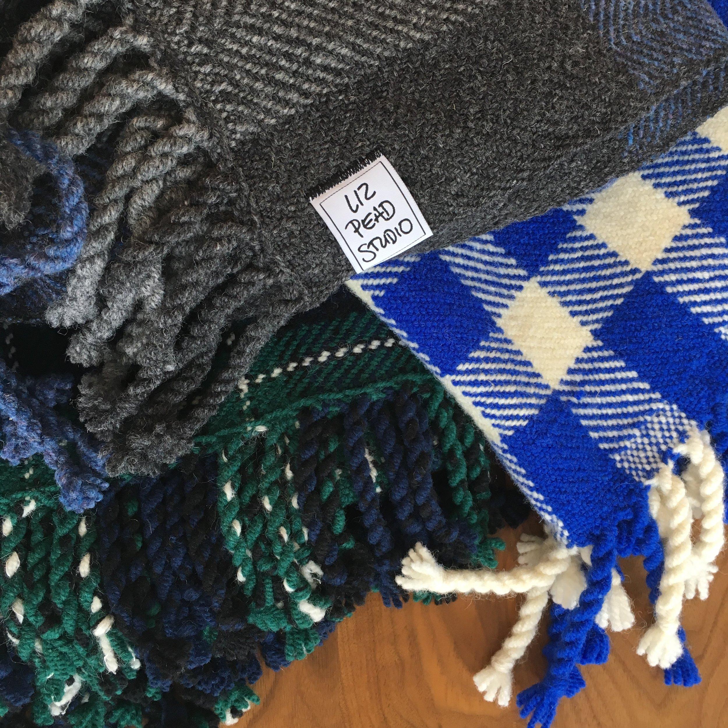 Liz Pead, Handwoven Blankets
