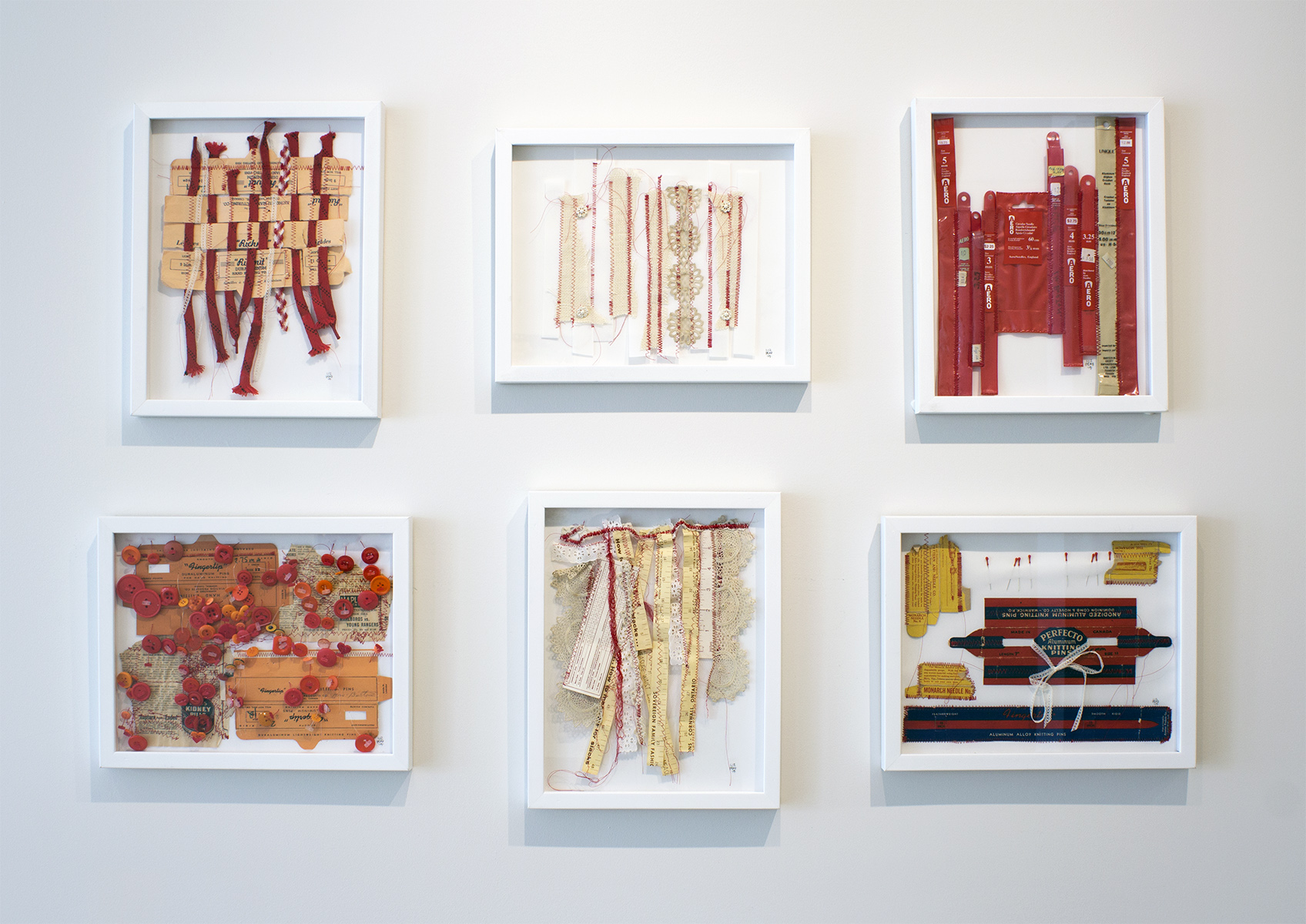 Liz Pead,  Legacy Series , installation view