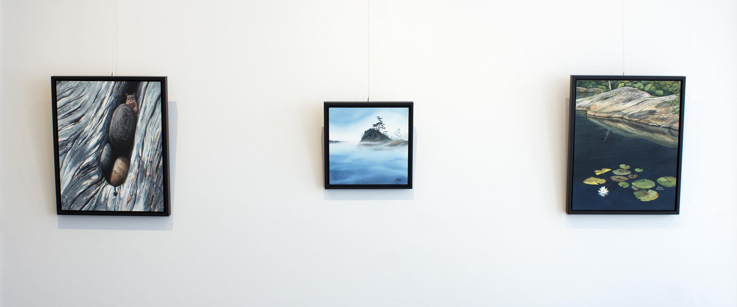 Karen Richardson,  The North, Naturally,  installation view