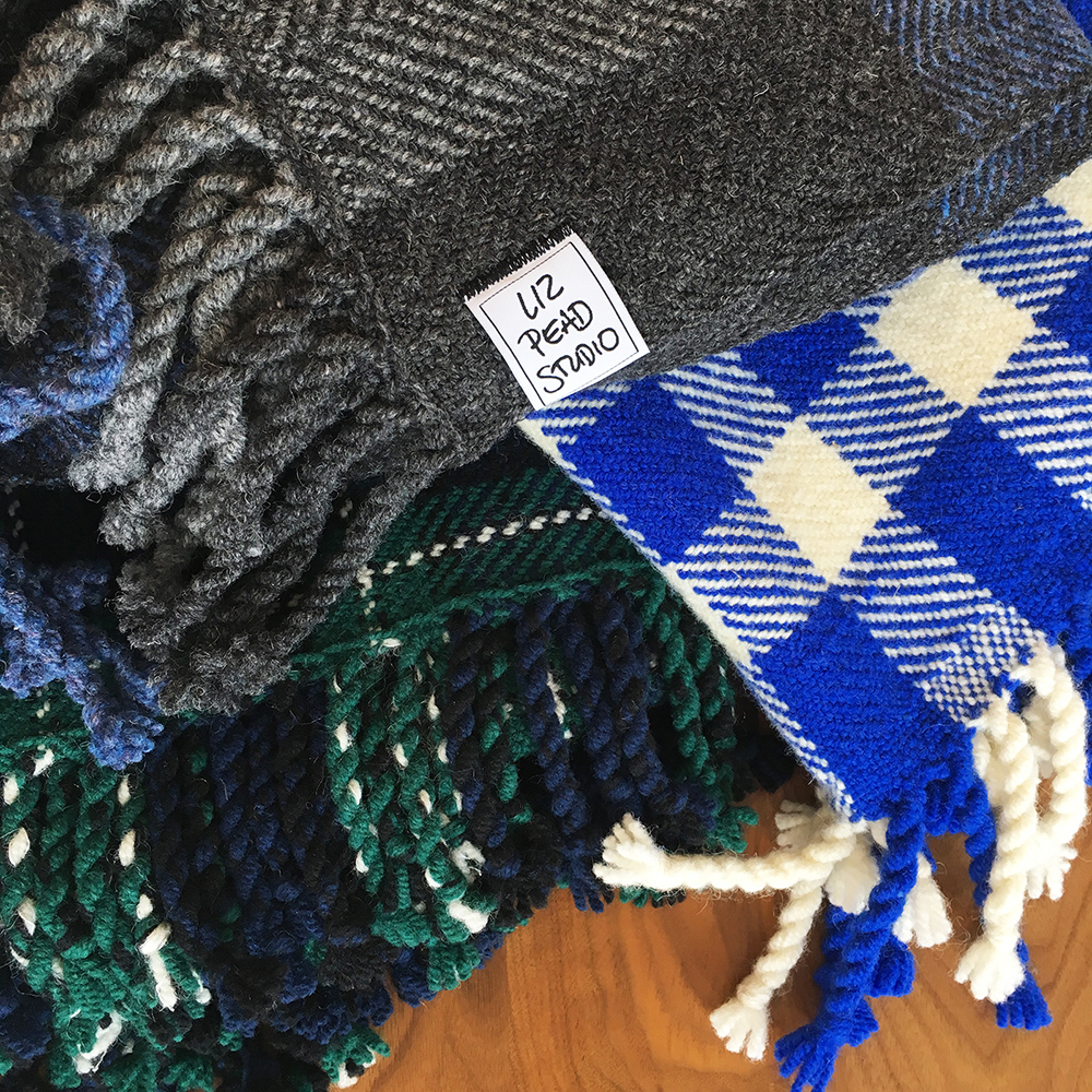 Liz Pead,  Handwoven Blankets  as part of the  Exploring Landcapes  exhibition in collaboration with the Kawartha Yarn & Fibre Festival