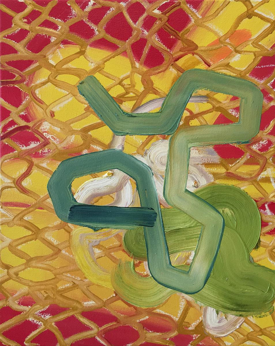 Jennifer LefortUntitled - 2014oil on canvas20 x 16 inches