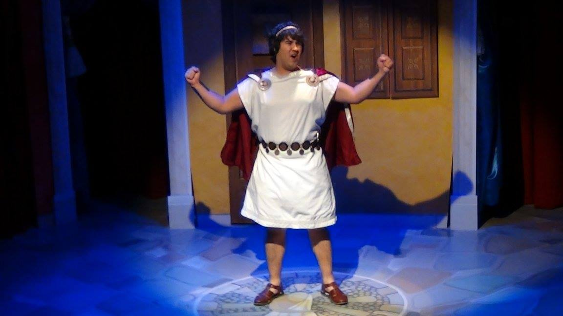 A FUNNY THING HAPPENED ON THE WAY TO THE FORUM -