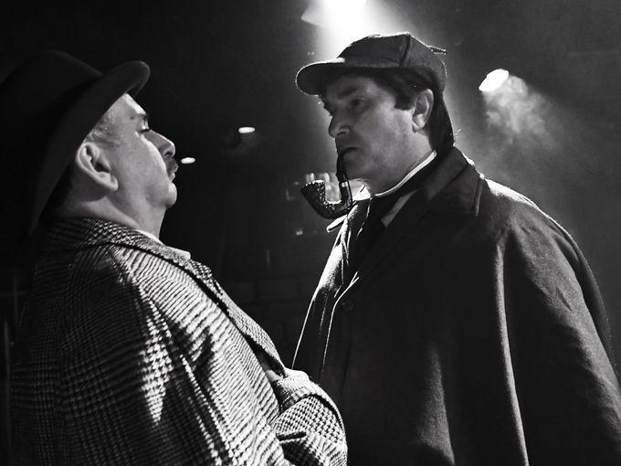 KEN LUDWIG'S BASKERVILLEA Sherlock Holmes Mystery -
