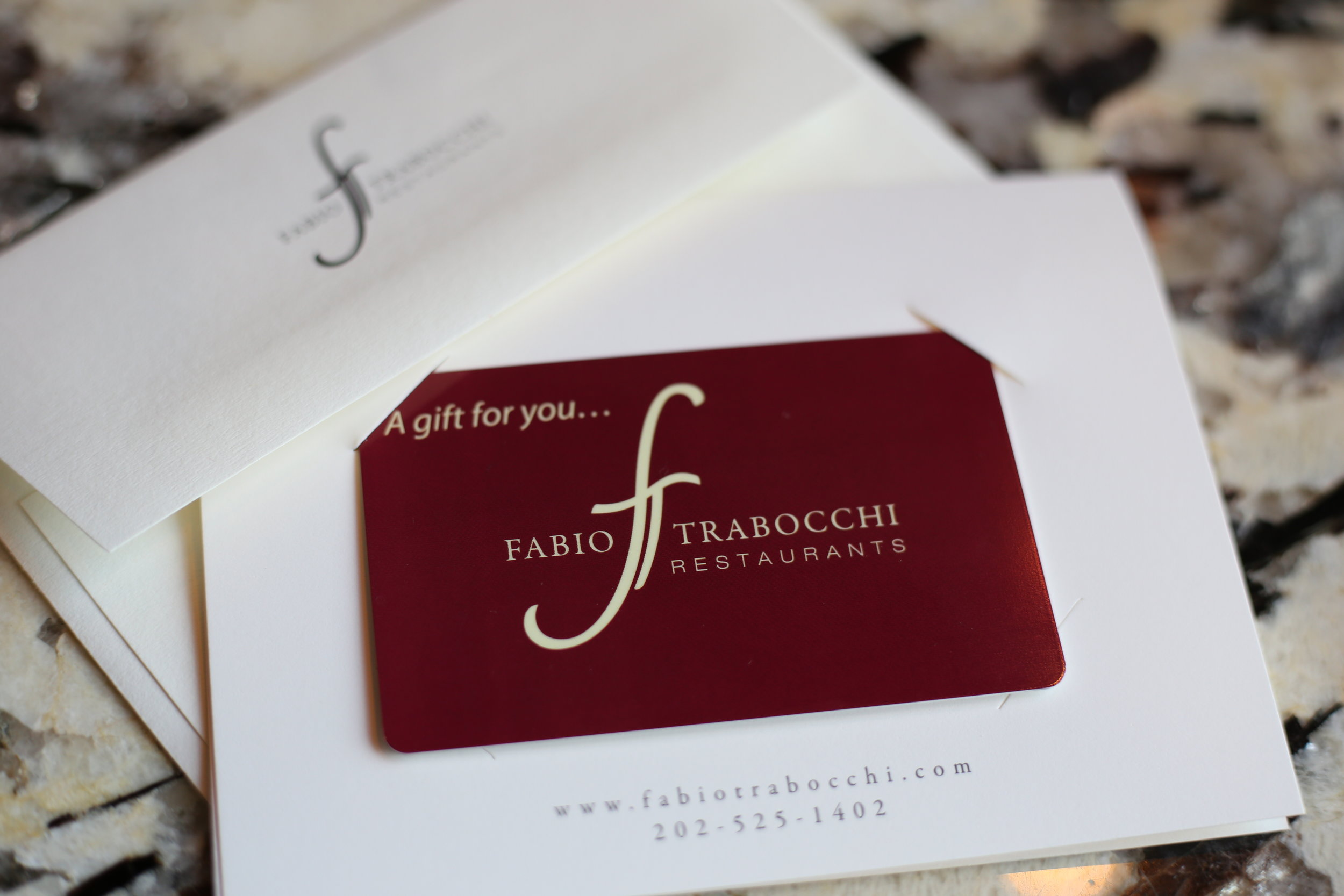 GIFT CARDS  Available for purchase online or in the restaurants.