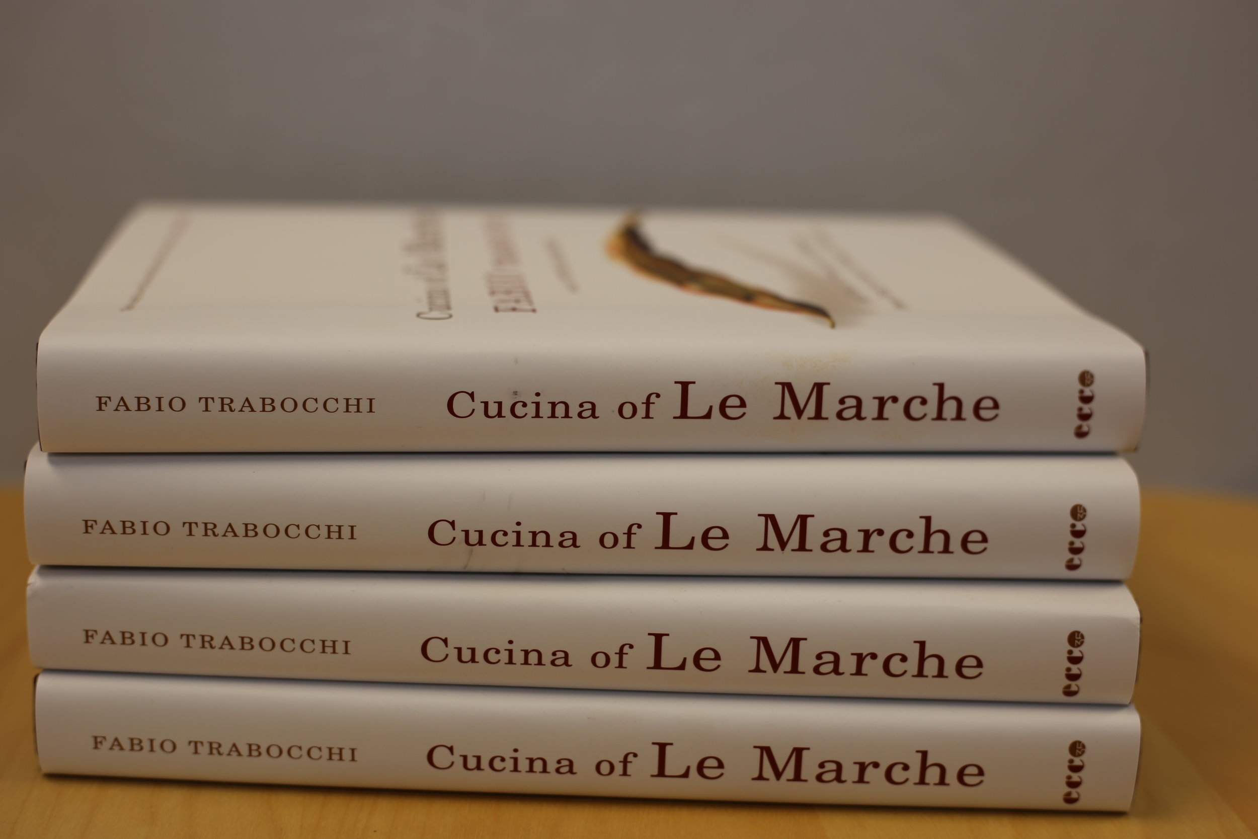 """CUCINA OF LE MARCHE"" COOKBOOK  By Fabio Trabocchi"