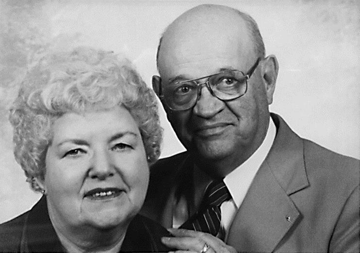 Bob & Virginia Knilans in 1955.