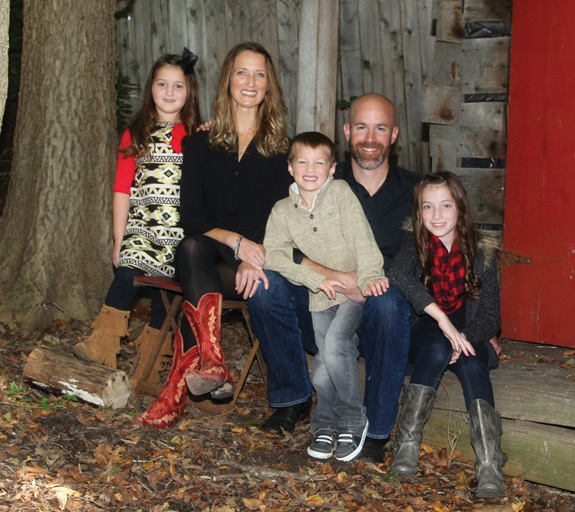 Current owner Tim Schlicksup and family.