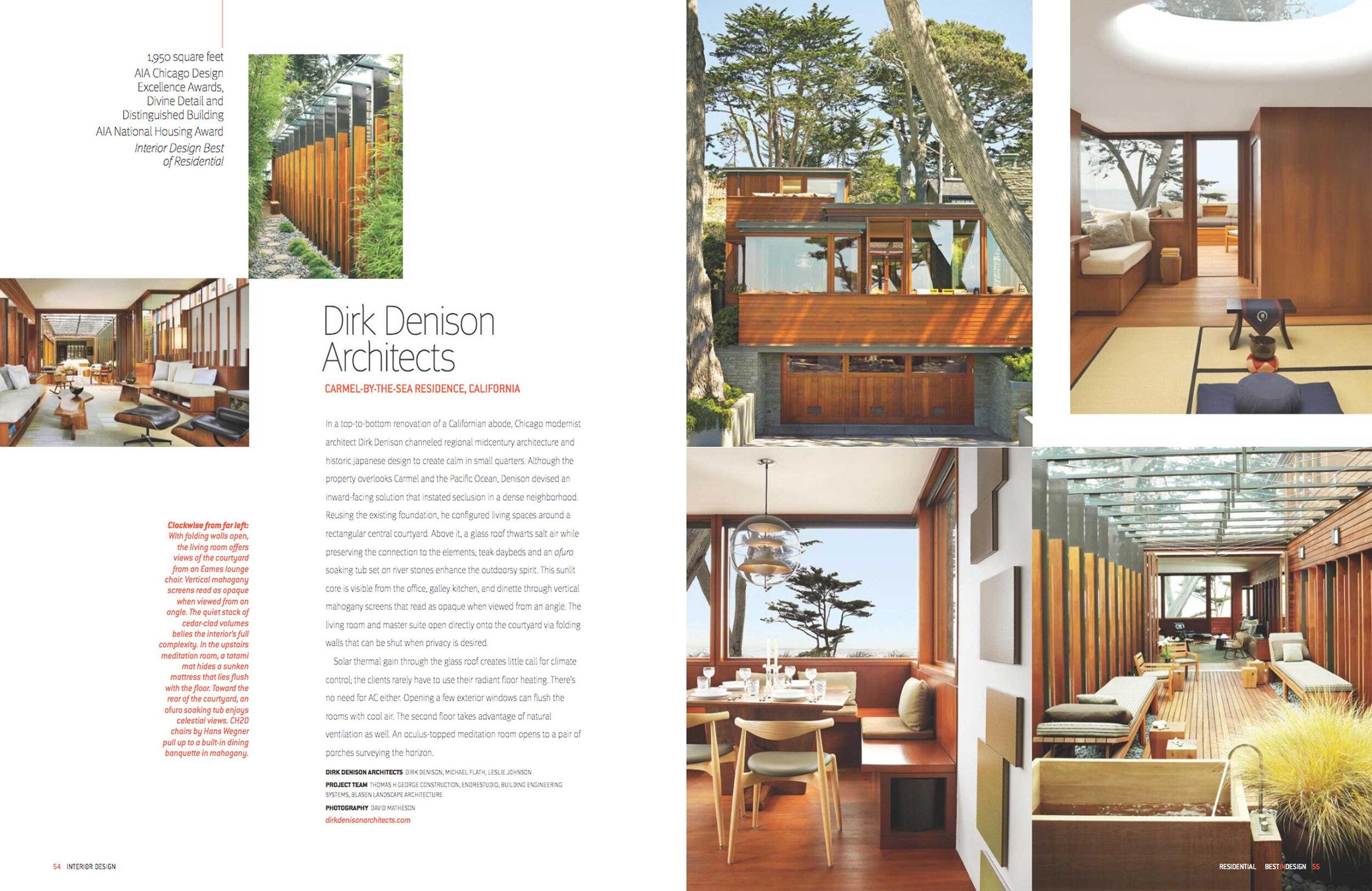Interior Design 2019 Dirk Denison Architects