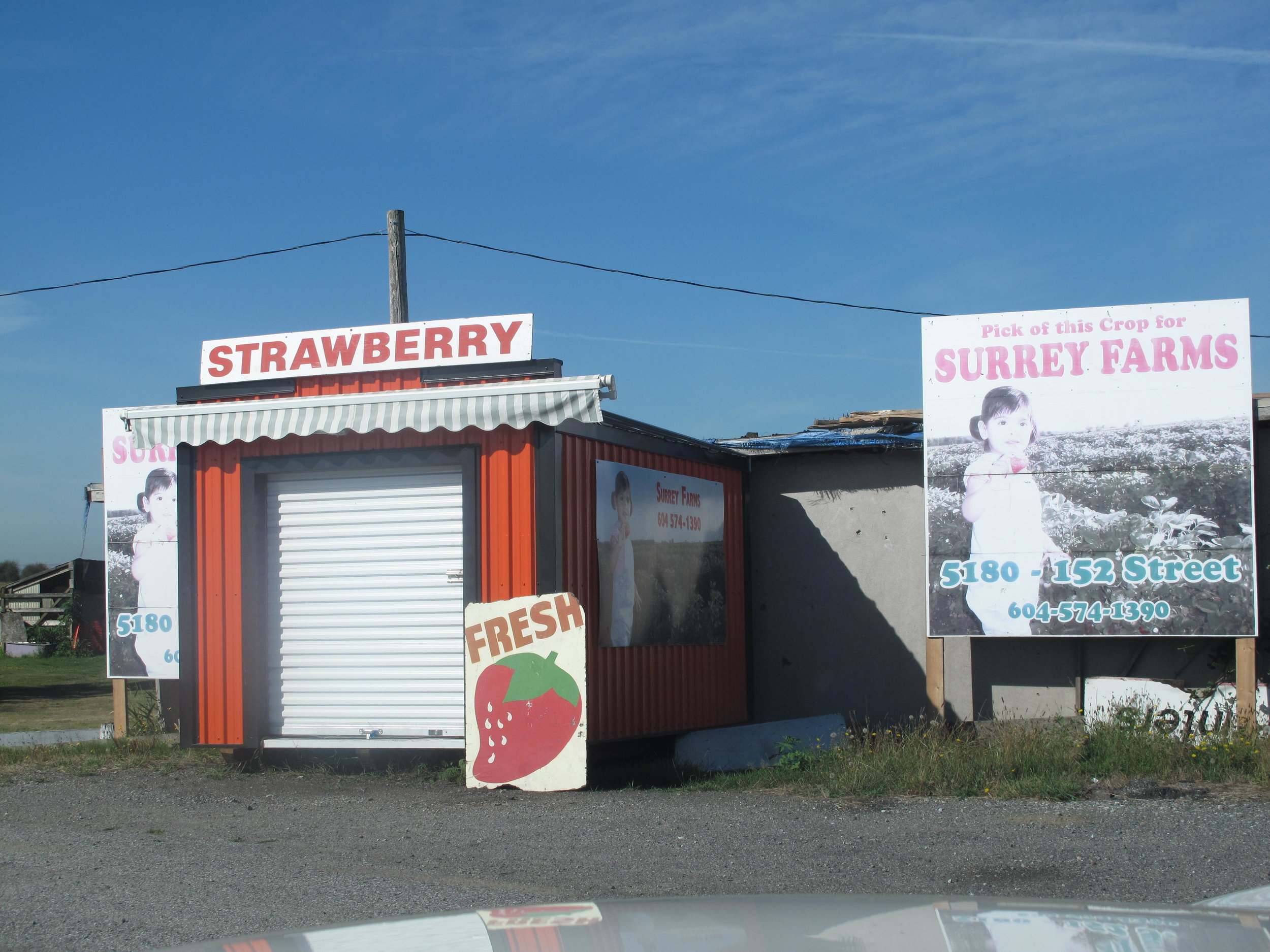 Our first market located at 4981 King George Blvd.