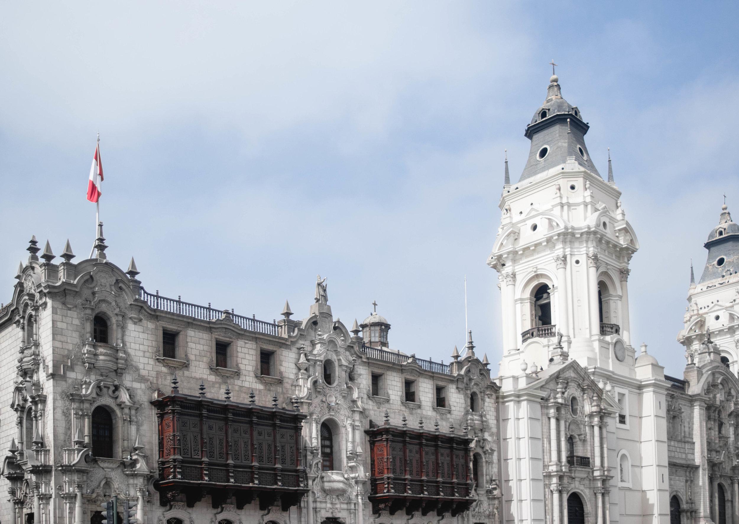 Plaza Mayor--Lima, Peru