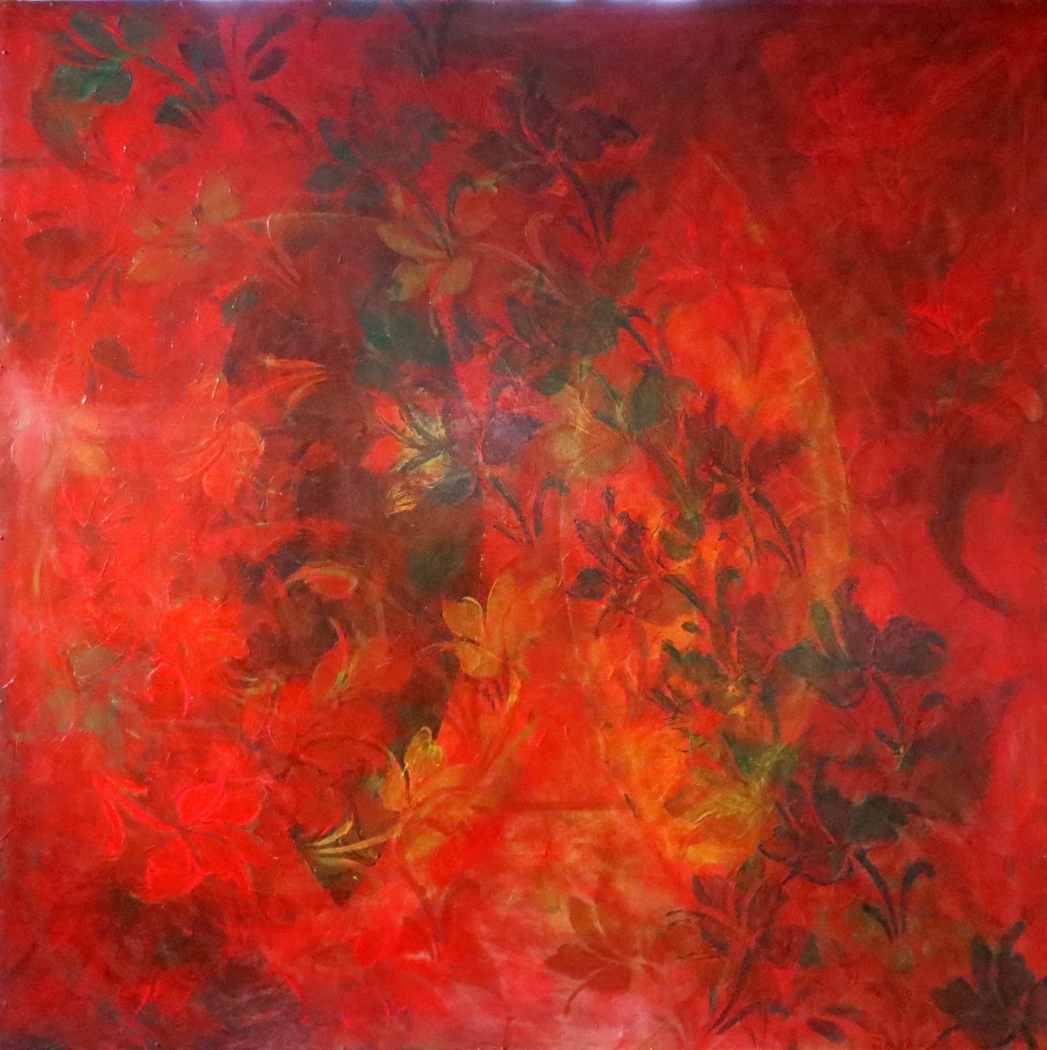 Fragment_akryl på plate_120x120cm