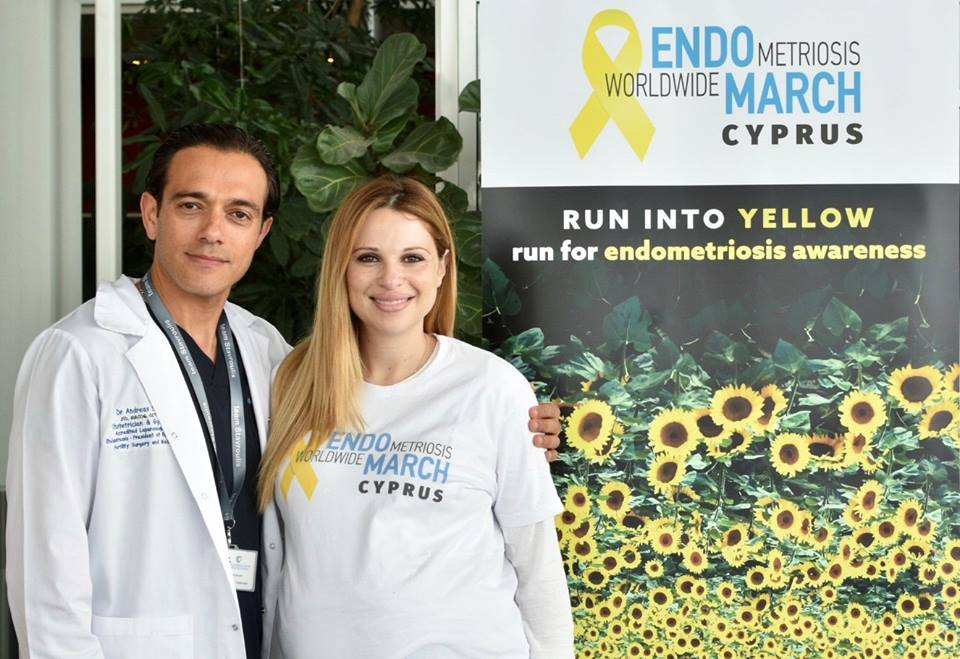 cyprus 2019 dr andreas stavroulis with tv presenter christiana aristotelous.jpg