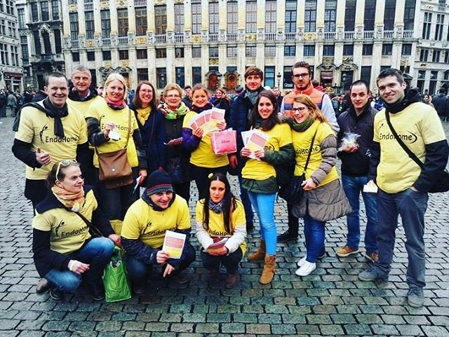 🇧🇪🇧🇪🇧🇪 Throwback Thursday to Team Belgium's 2017 EndoMarch with EndoHome  #tbt #teambelgium #endomarch