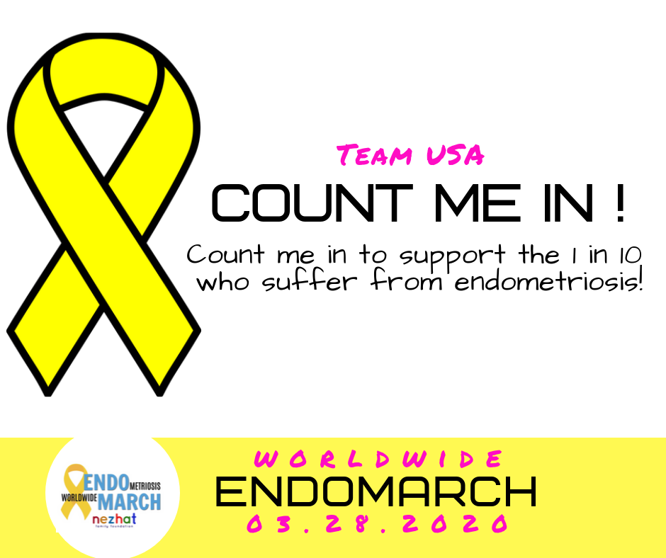 SIGNS TO DOWNLOAD - As mentioned, you can also join the global Count Me In campaign online using these signs that can be customized to include your team name, logos, and any other information.