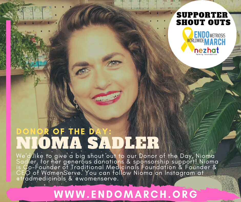 2020 donor of the day shout out Nioma Sadler Traditional Medicinals WomenServe.png