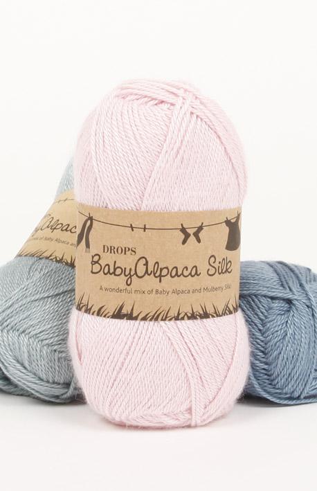 Baby Alpaca Silk samples