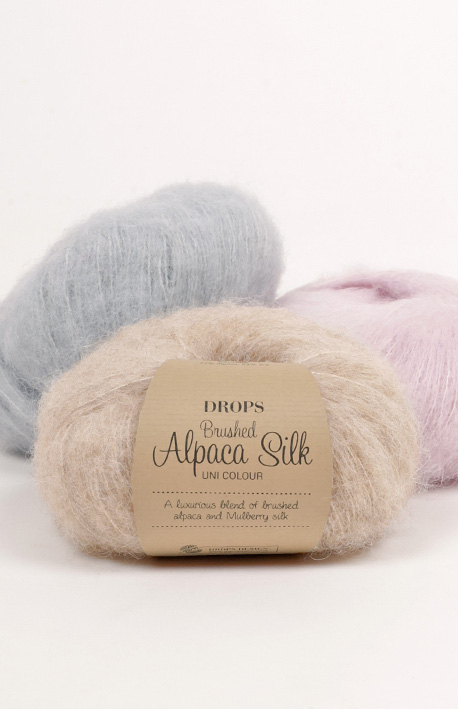 Pick 1: Brushed Alpaca Silk balls