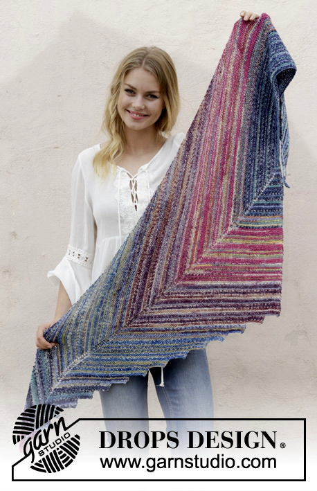 Point the Way Shawl