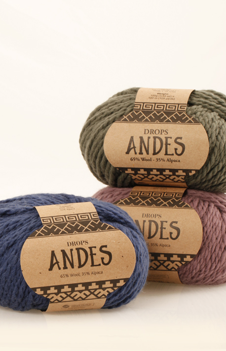 DROPS Andes balls
