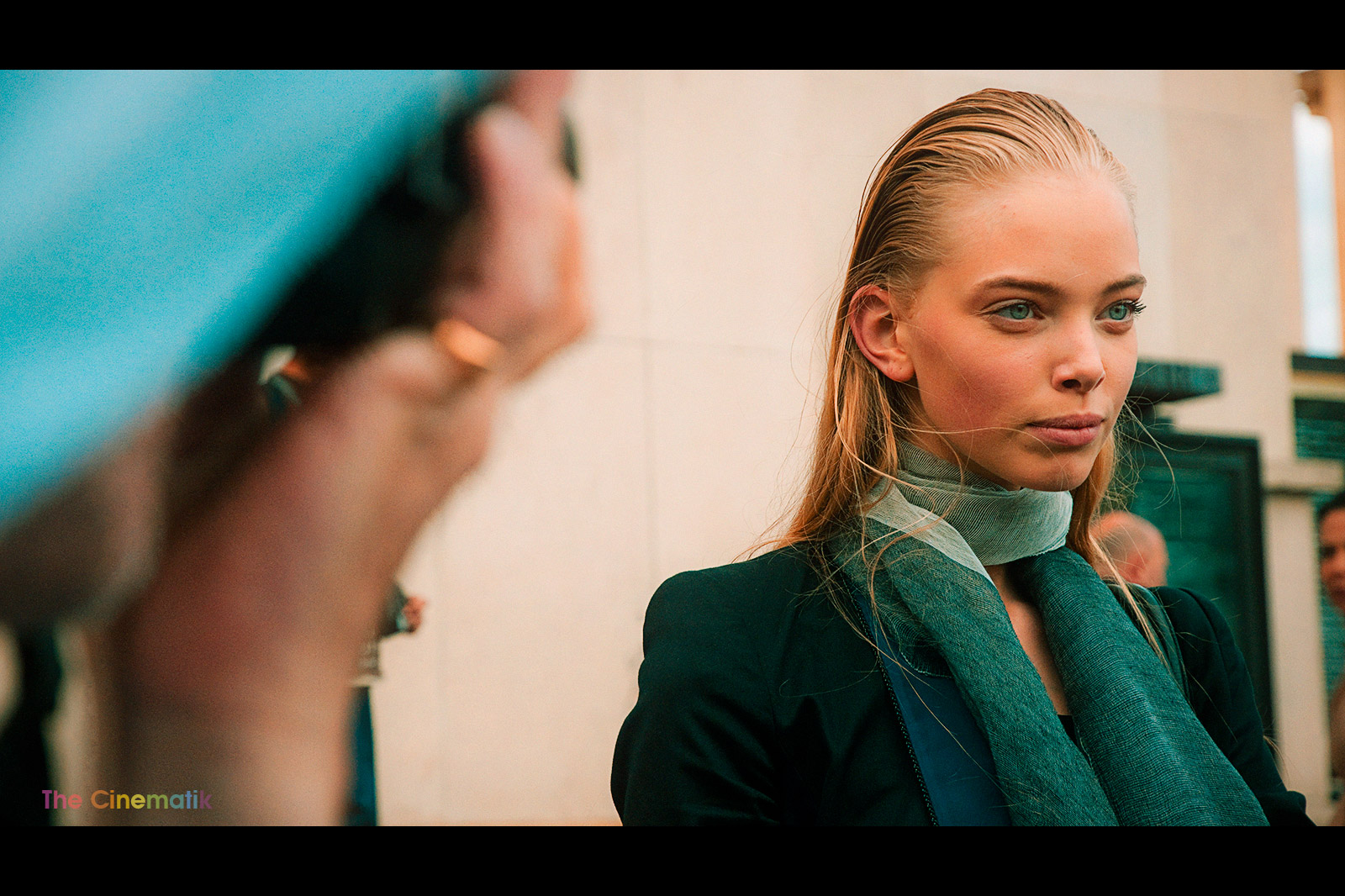 Gorgeous Russian Model Tanya cinematic photograph at New York Fashion Week by Kamal Lahmadi