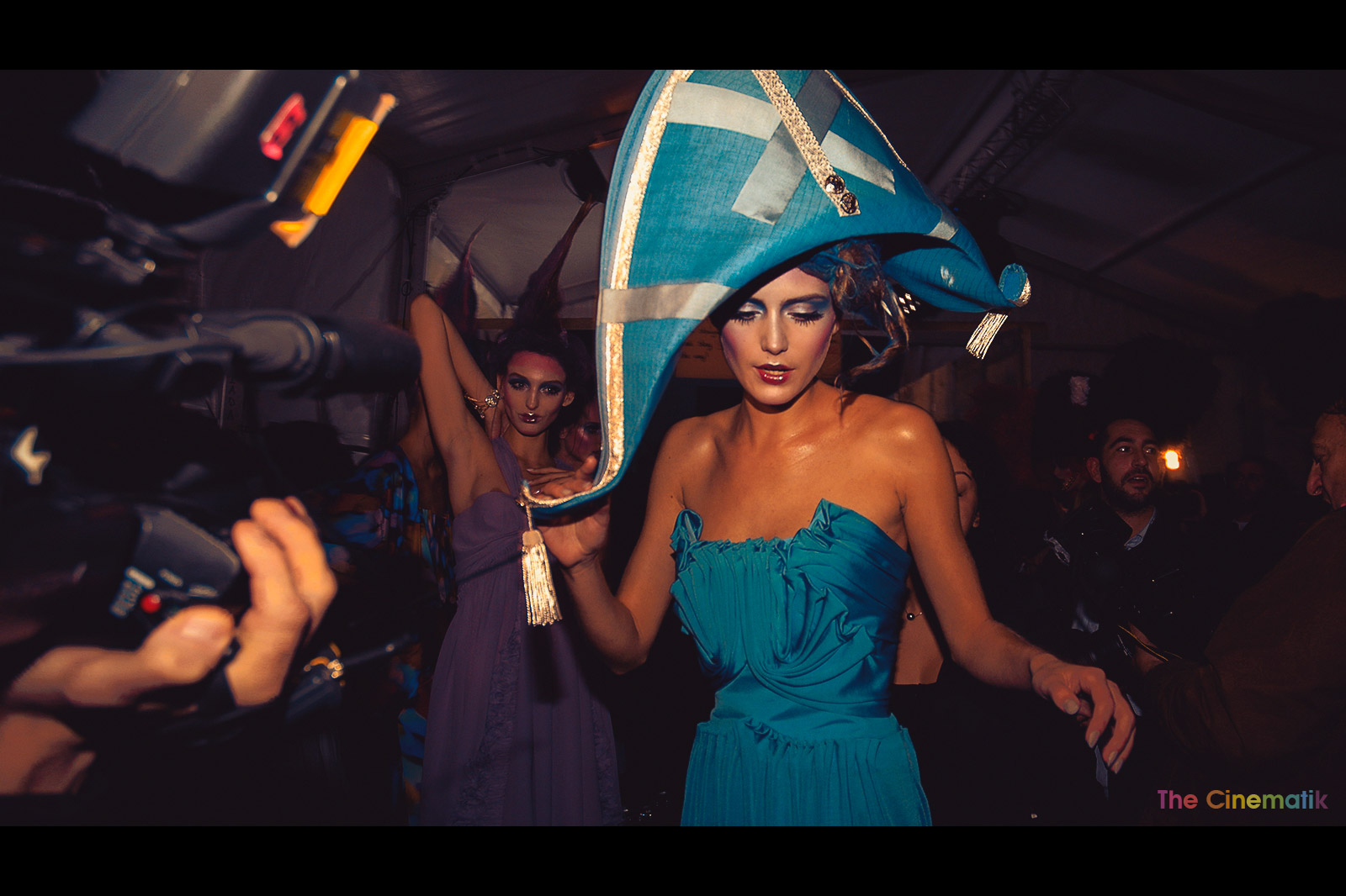 Copy of Amazing costumes at John Galliano fashion show Paris fashion Week Cinematic photography by Kamal Lahmadi / The Cinematik