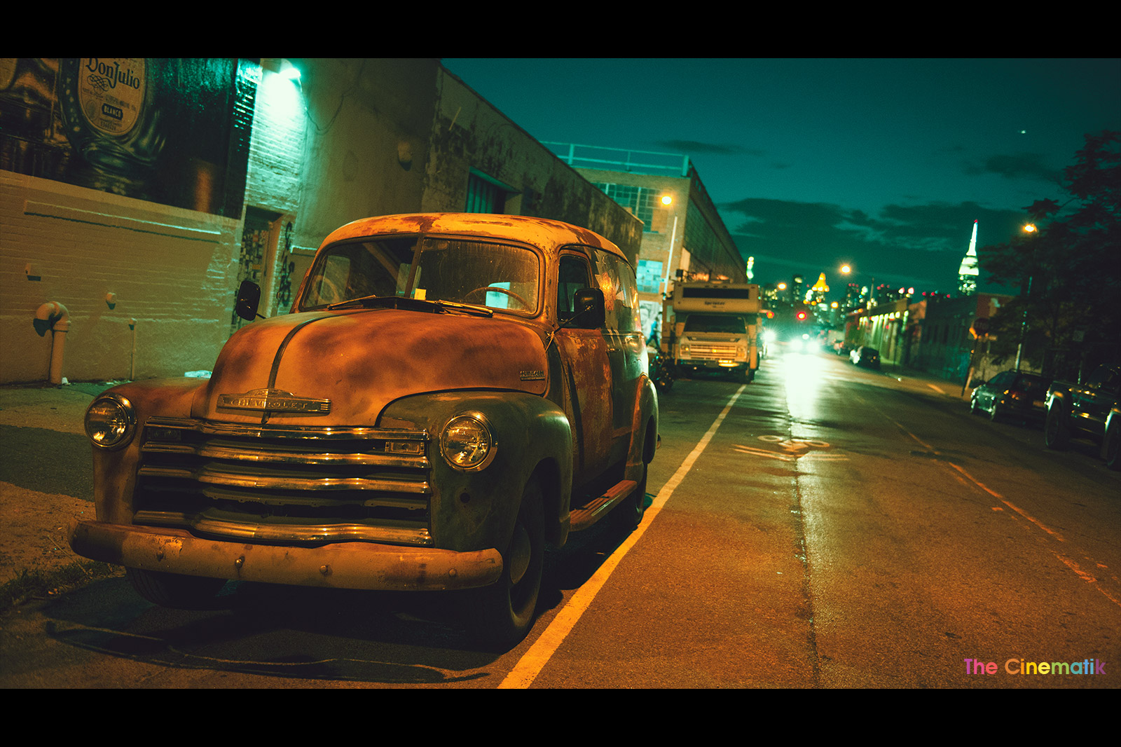 Beautiful-OLD-CAR-under-night-lights-in-Brooklyn-cinematic-photograph-by-Kamal-Lahmadi.jpg