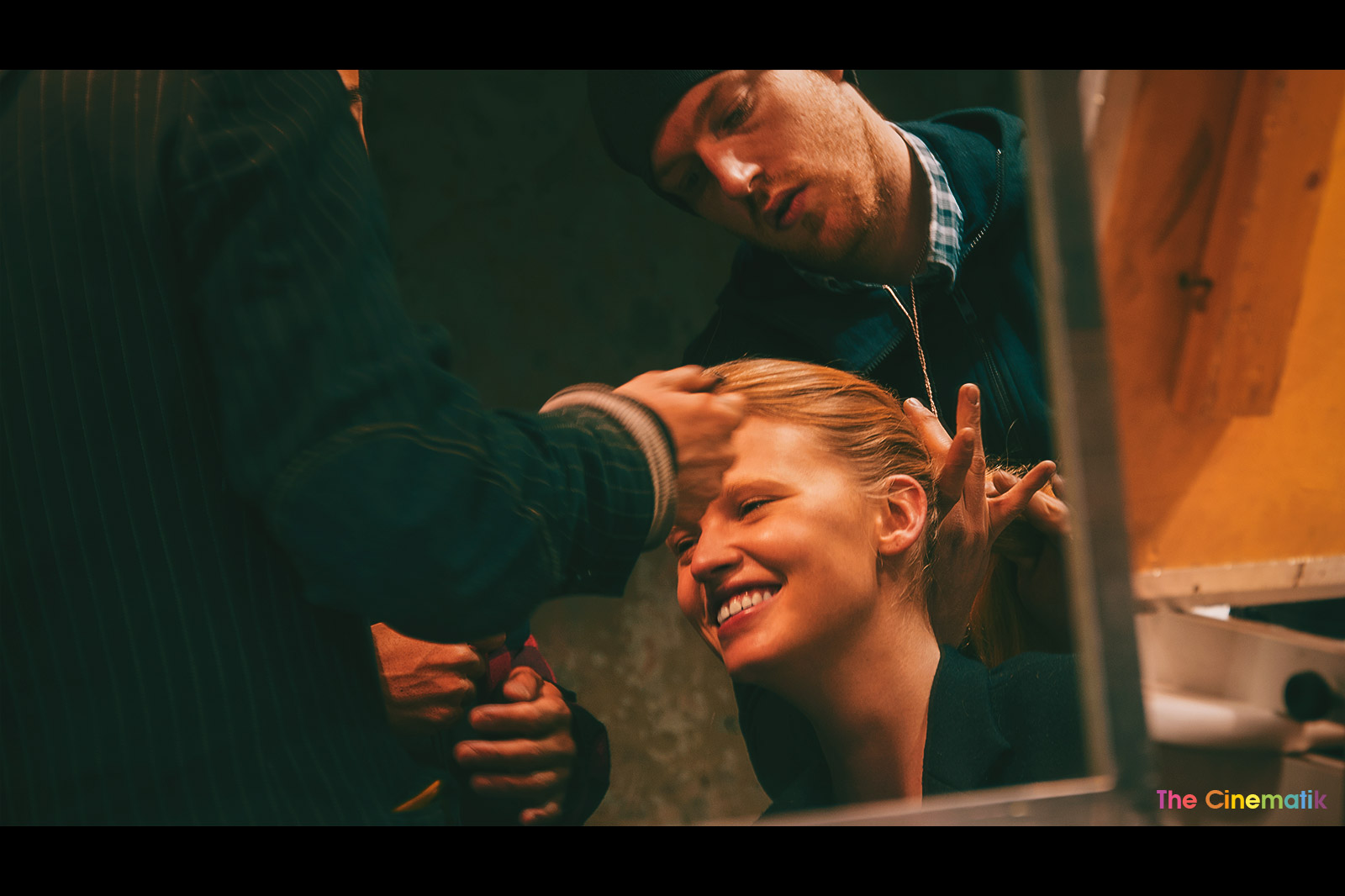 LARA-STONE-laughing-while-hair-dressed-at-Stella-McCartney-show-beautiful-cinematic-photograph-by-Kamal-Lahmadi.jpg