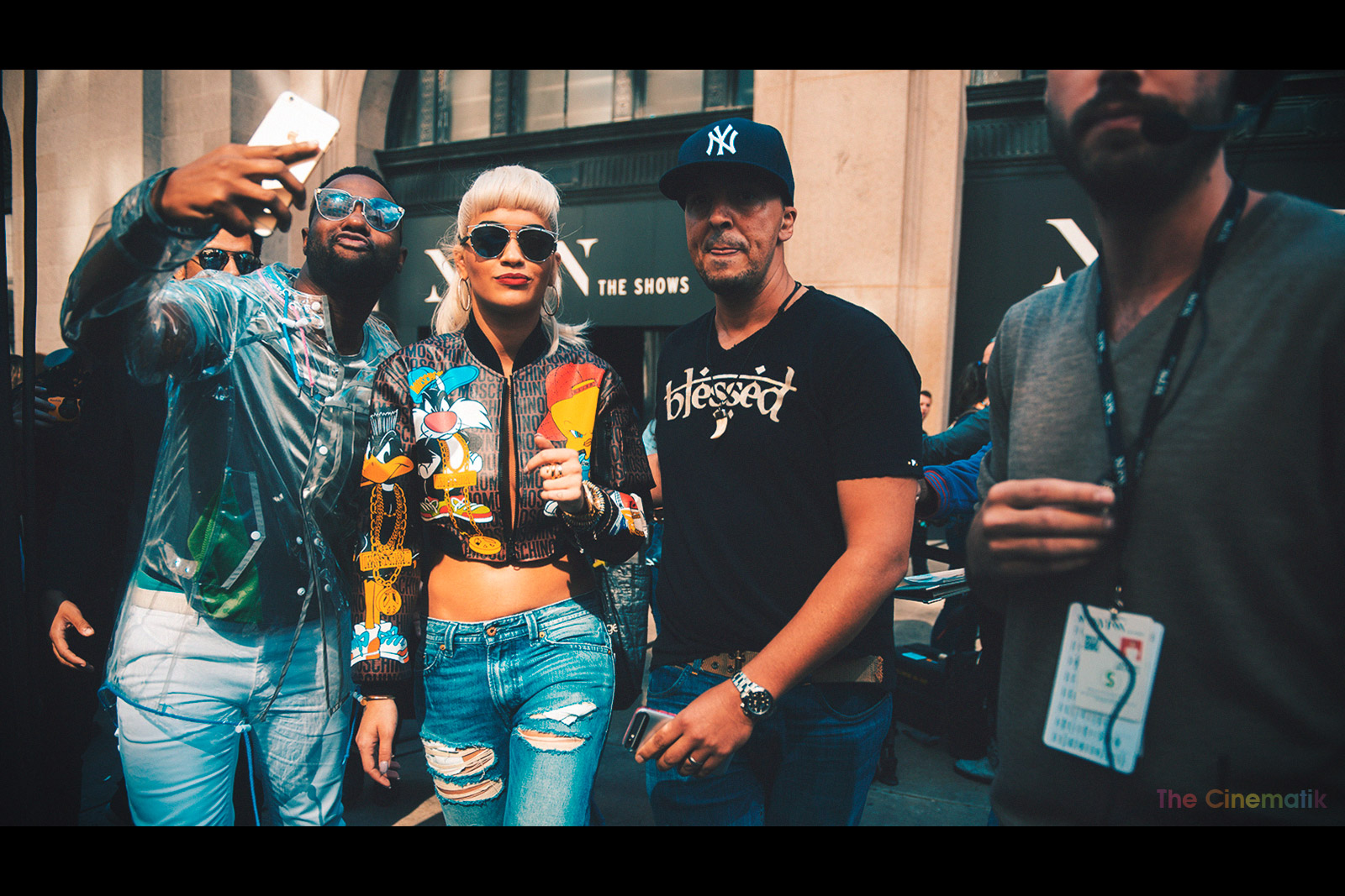 RITA-ORA-stalked-by-fan-talking-unwanted-selfie-with-her-New York-fashion-Week-beautiful-cinematic-photograph-by-Kamal-Lahmadi.jpg