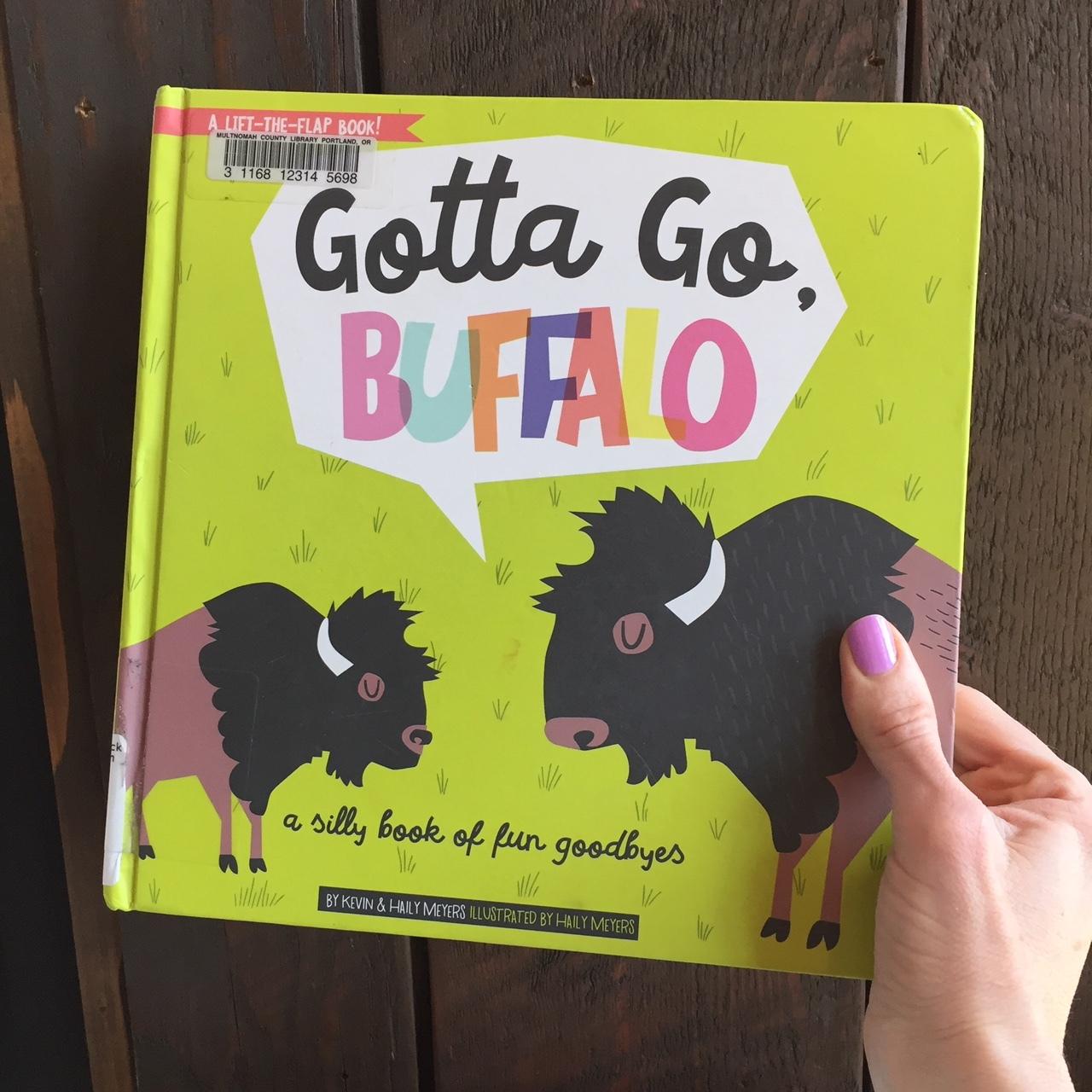 Board Book Buffalo
