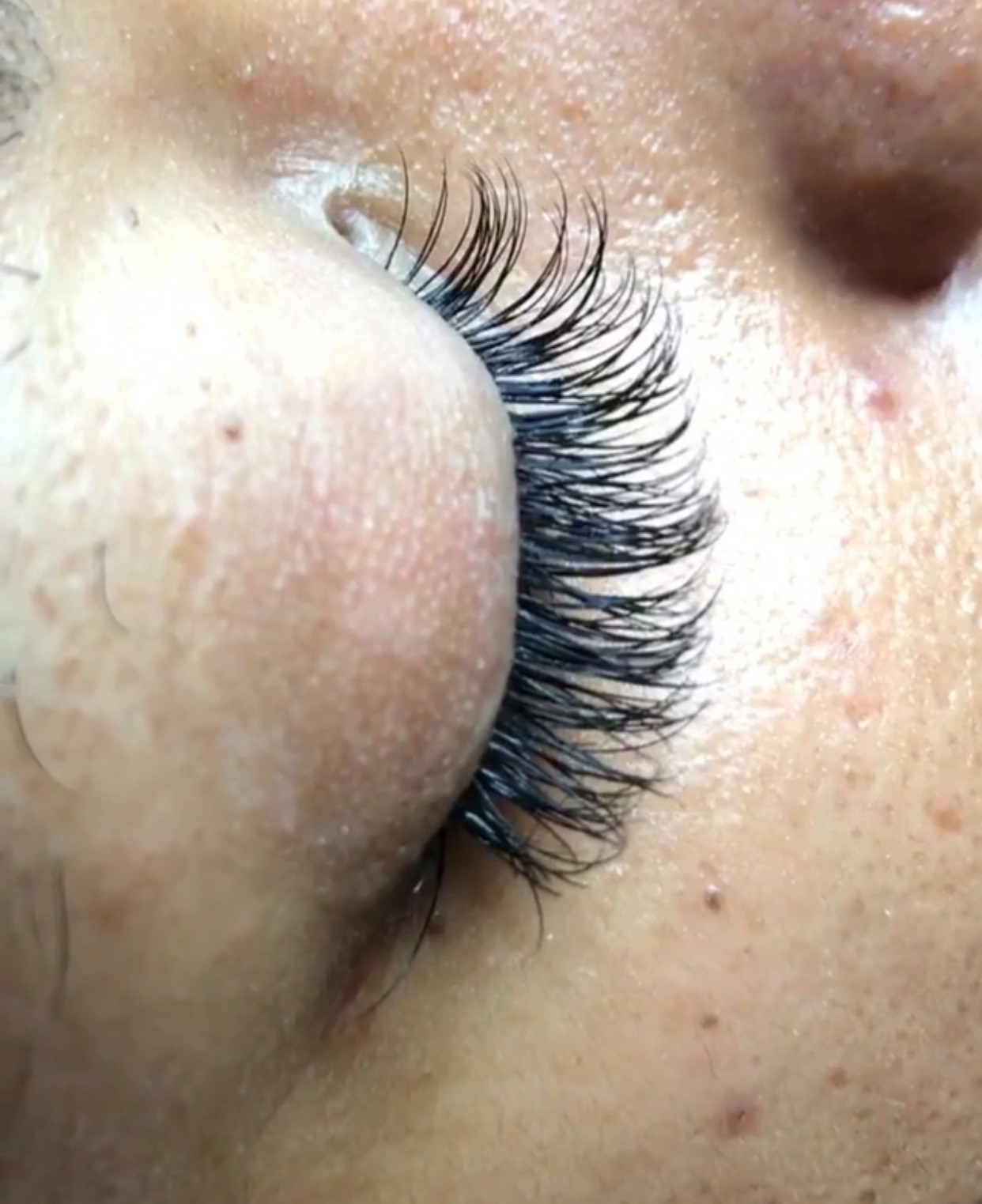 Leryn was super professional, nice and punctual. She informative about the process and aftercare. I cannot wait until I get my lashes done again. Thank you!-Christina S.