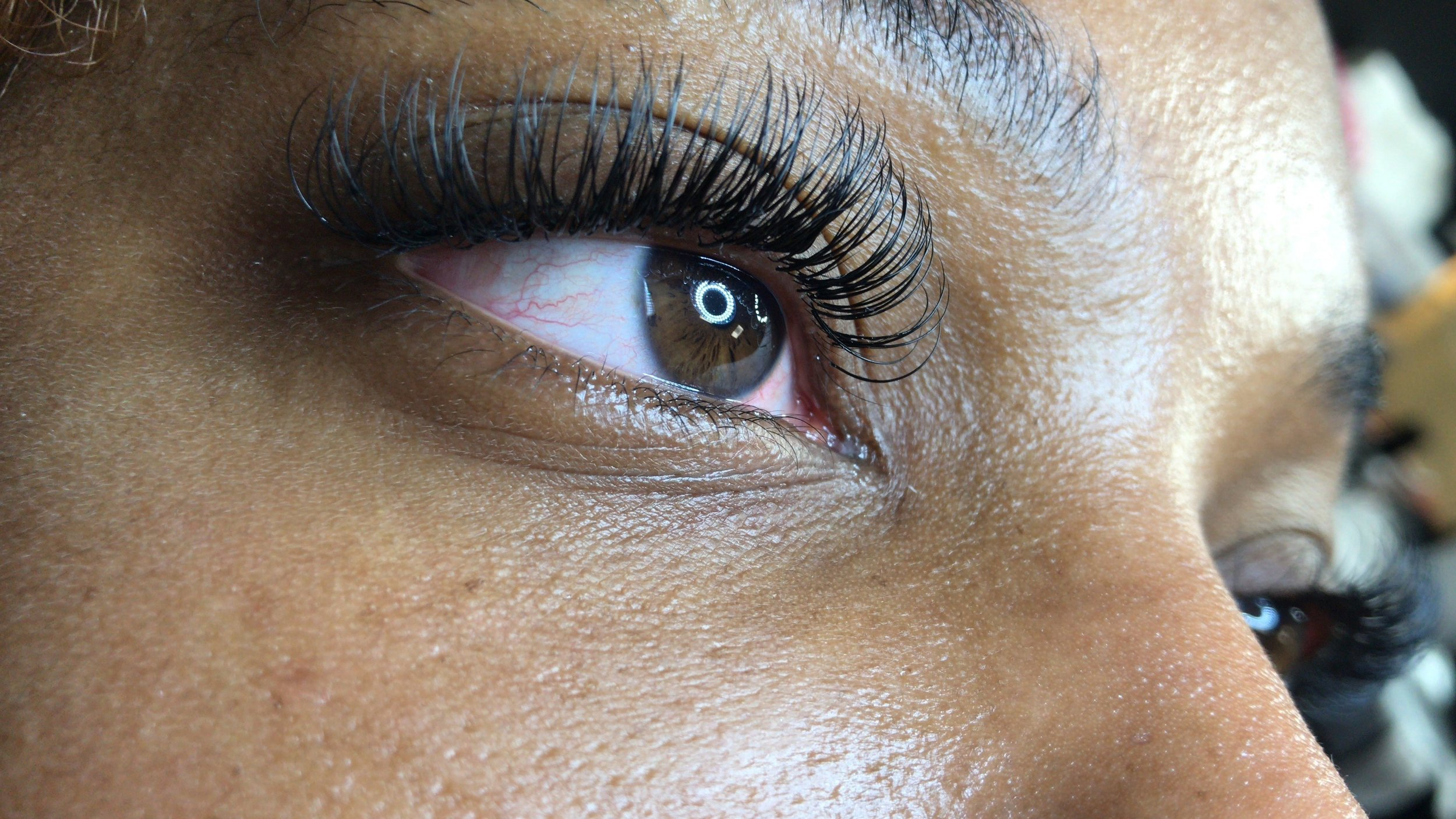 I love, love, love my lashes like always. I received a lot of compliments on how full and pretty my lashes look, like the last couple days. I can't wait to get lashes again for my birthday. Thank you -Danielle R