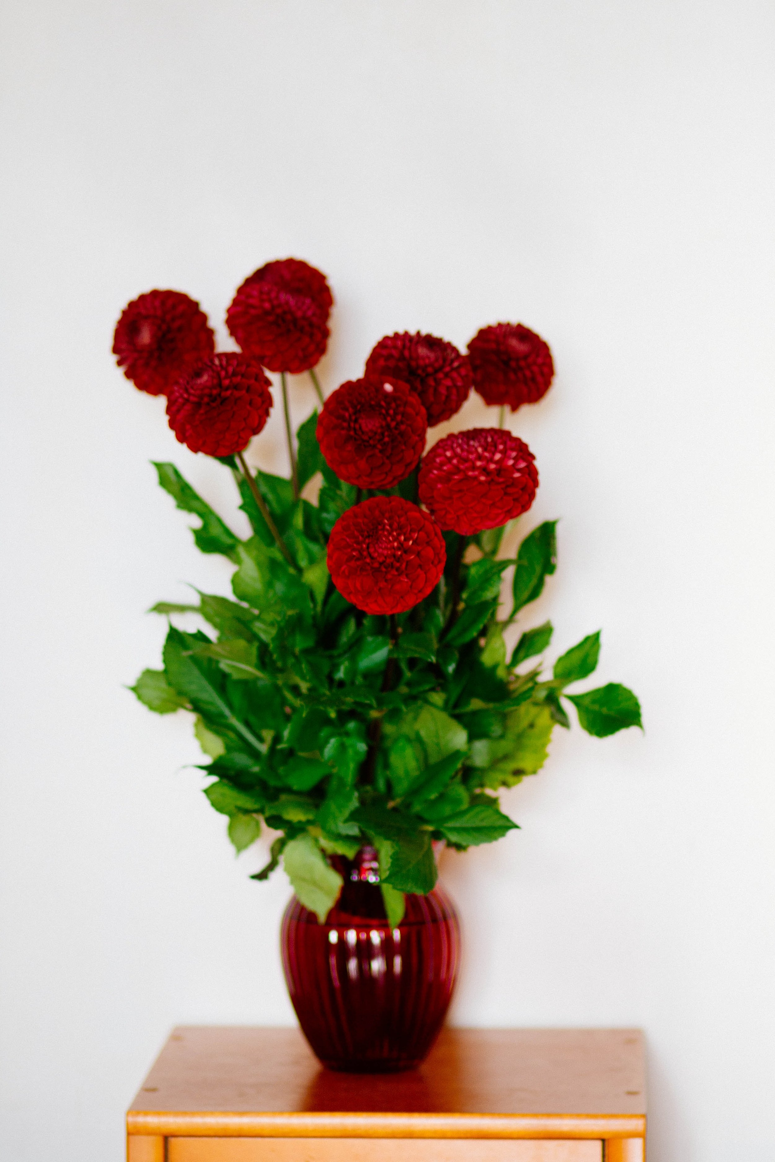 Changing the water in your flower arrangment: -