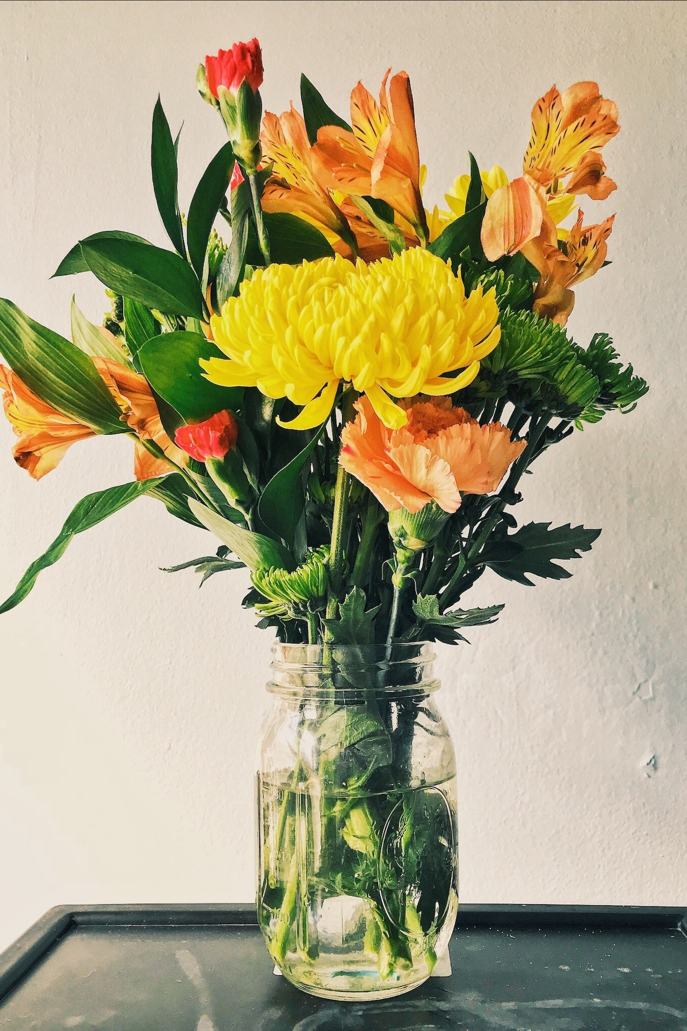 So you just had flowers delivered to you, now what?: -