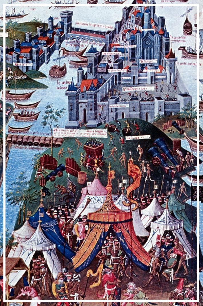 1204 Siege of Constantinople