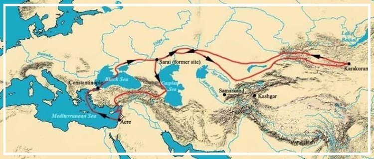 William of Rubruck's Route