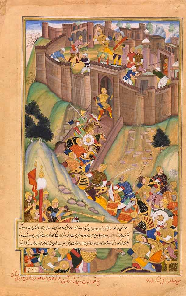 Hulagu at Siege of Alamut